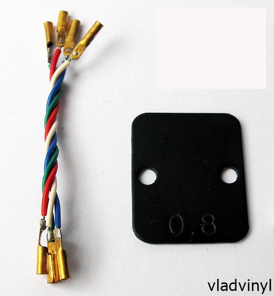 Набор для картриджа Pioneer: проставка, провода (NOS)