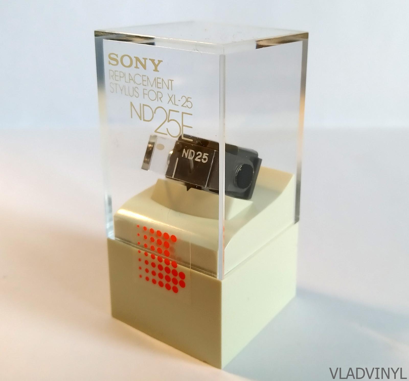 Сменная игла Sony ND-25E (новая, original, NOS)