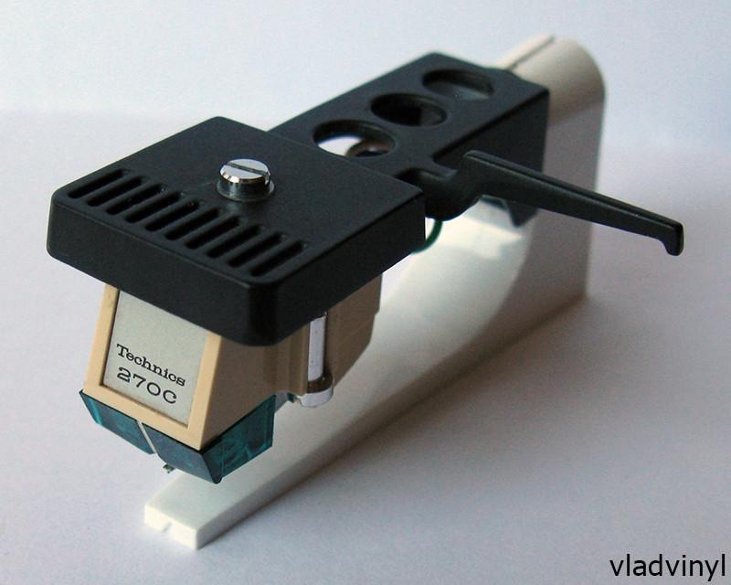 Головка звукоснимателя Technics EPC-270C (б/у), шелл Technics SH-98 (б/у)