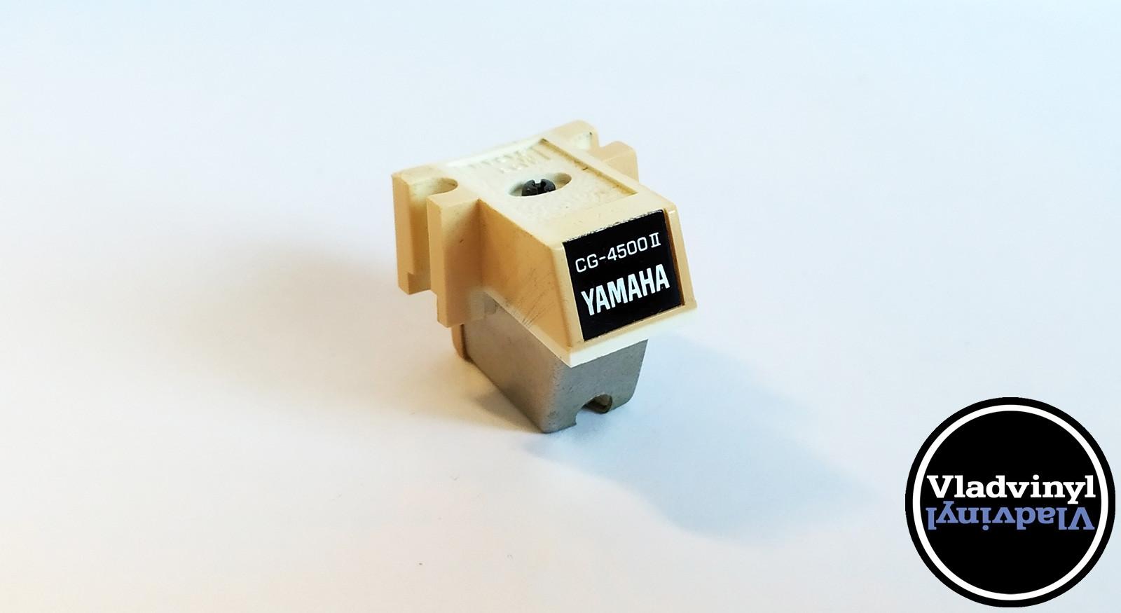 Головка звукоснимателя Yamaha CG-4500 MK2 (б/у), совместимая игла Rec Tourney TD 15-135 (NOS)